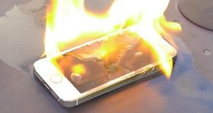 burn-iPhone