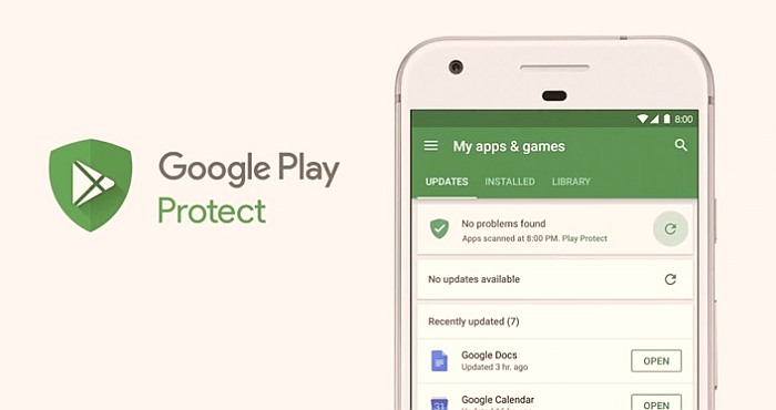 Play Protect is the new Google's Android Certificate