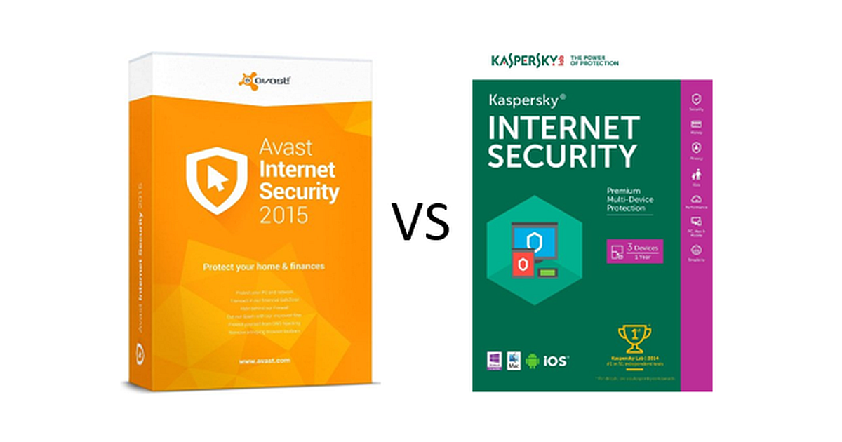 Kapersky vs Paid Antivirus avast vs kaspersky 1