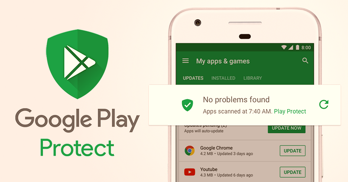 Google Prioritizes Security Upgrades google play android security 1